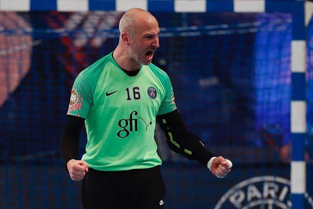 Thierry Omeyer lors d'un match en mars 2019