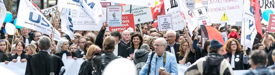 Les professions libérales dans la rue lors de la mobilisation du 16 août 2019
