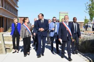 Visite du premier ministre Edouard Philippe à Biovallée - Association en juin 2018