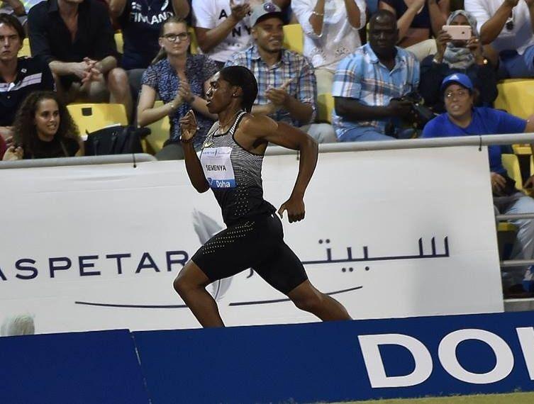 La Sud africaine Caster Semenya, double championne olympique du 800 m