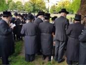 Chassidische Joden Portugees-Joodse begraafplaats Den Haag