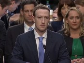 Facebook-topman Mark Zuckerberg getuigt voor het Amerikaanse Congres (10 april 2018)