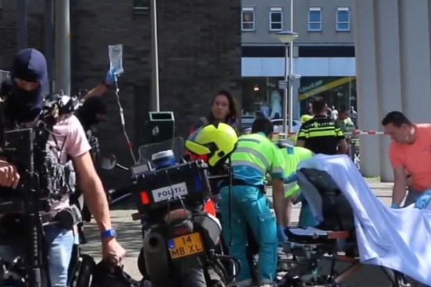 Steekpartij door verwarde man in Den Haag
