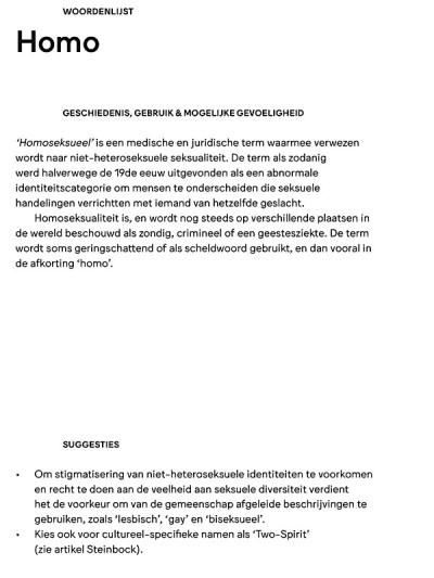 """Pagina uit publicatie """"Words ~Matter"""" Tropenmuseum"""