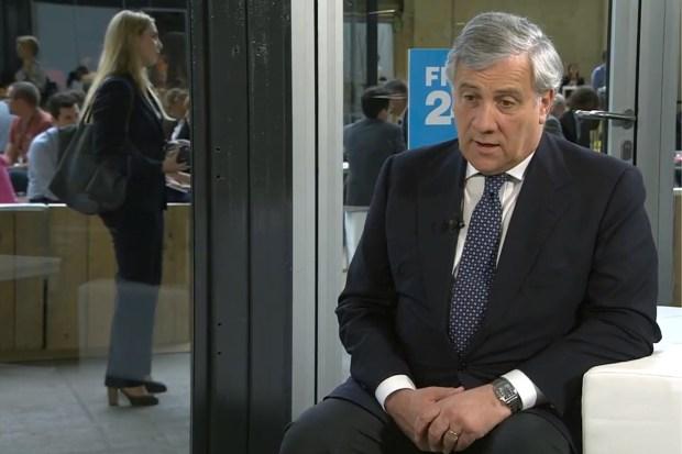 Voorzitter Europees Parlement Tajani