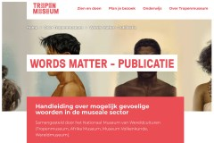 Homepage Website Tropenmuseum