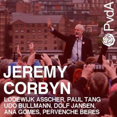 Jeremy Corbyn - Den Haag 5 juli 2018