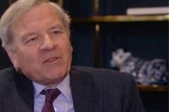 Ex-NAVO secretaris-generaal Jaap de Hoop Scheffer.