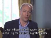 Nieuwsuur-journalist Eelco Bosch van Rosenthal in interview met Steve Bannon (6 juli 2018).