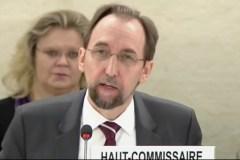 VN Hoge Commissaris voor de Mensenrechten Zeid Ra'ad Al Hussein.