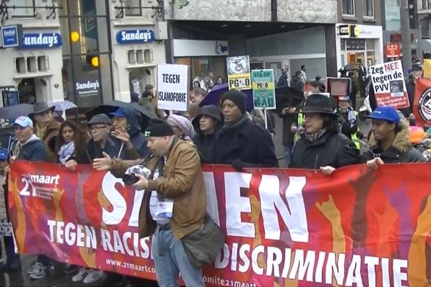 Antiracisme-demonstratie in Amsterdam (18 maart 2018)