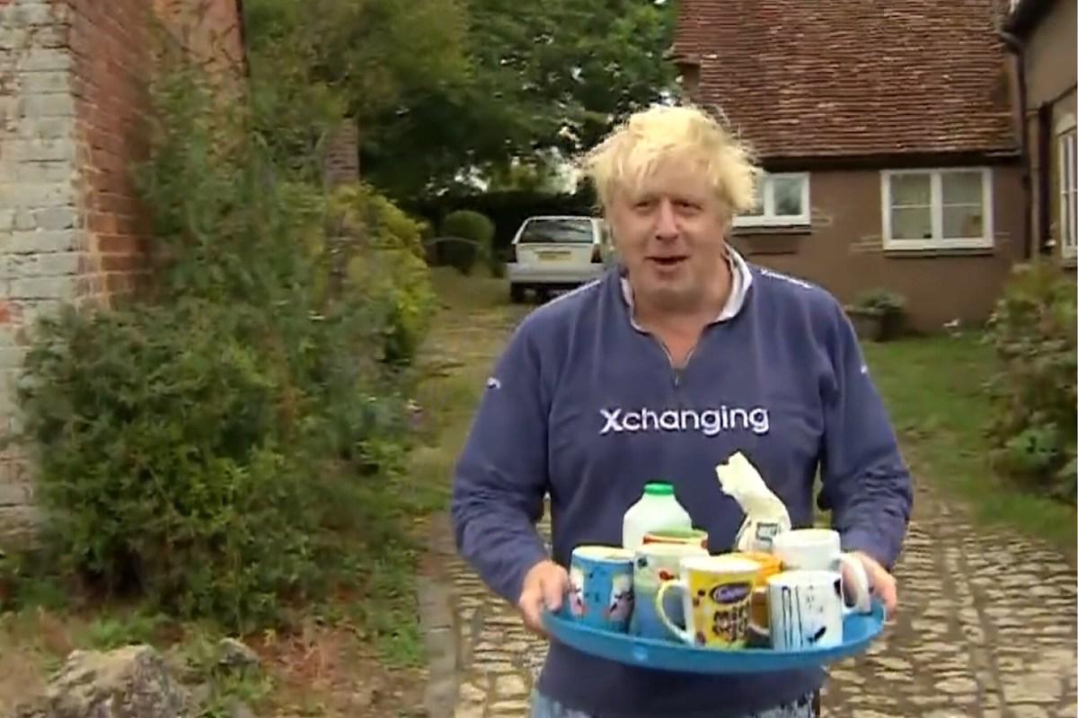 De beladen brievenbus van Boris