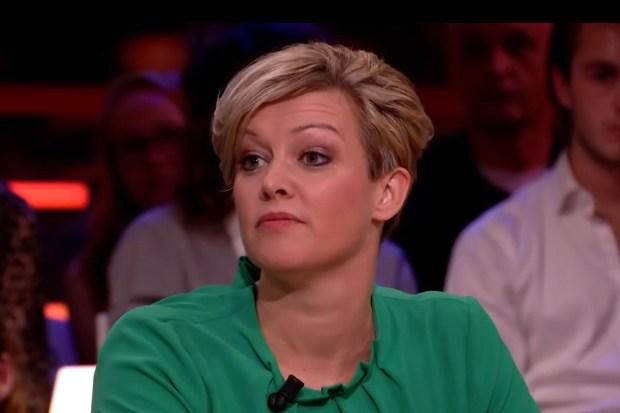 Jenny Douwes bij RTL Late Night 12 oktober 2018.