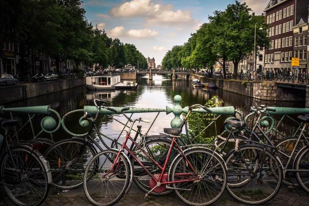 Stadsgezicht Amsterdam