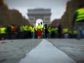 Demonstratie Gilets Jaunes in Parijs