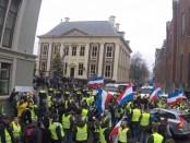 demonstratie Gele Hesjes in Den Haag