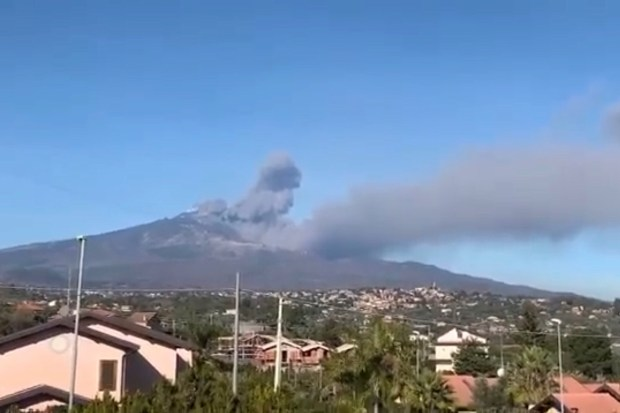 De vulkaan Etna