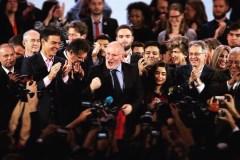 De socialistische Spitzenkandidat voor het voorzitterschap van de Europese Commissie Frans Timmermans