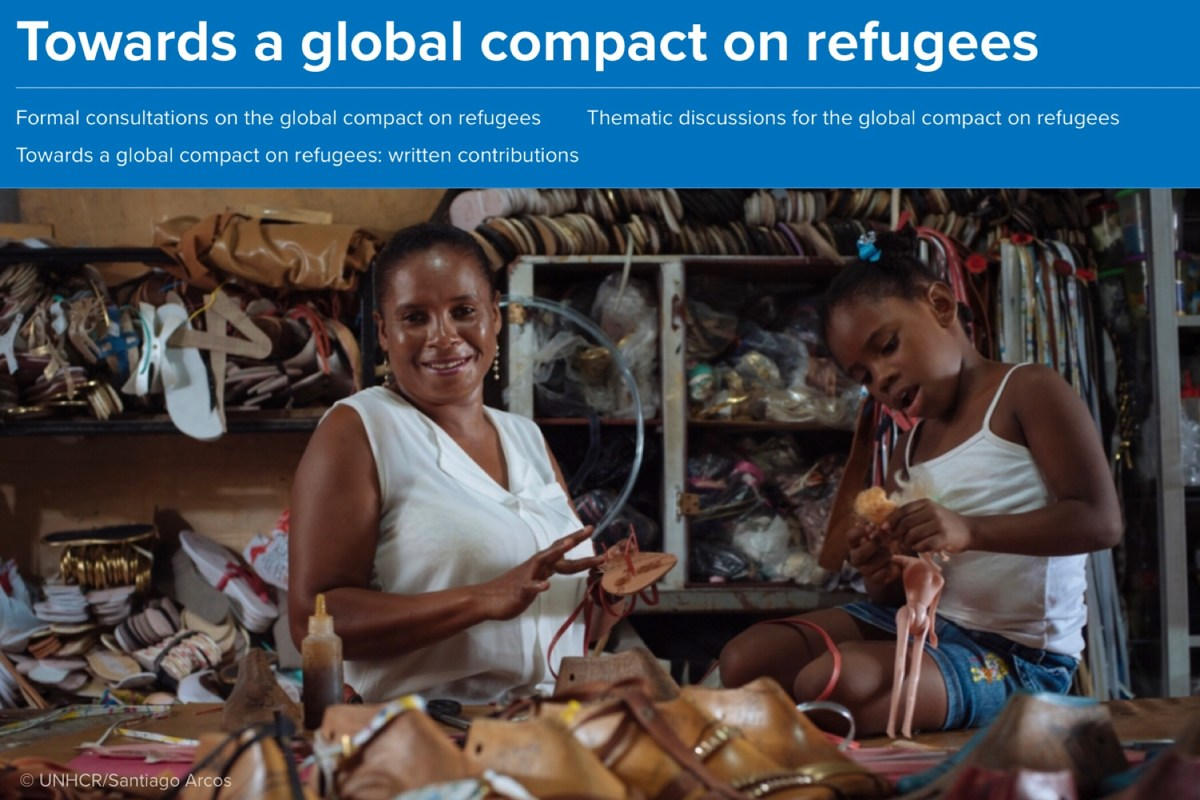 Naast het Marrakeshpact worden we ook het VN-Vluchtelingenpact ingerommeld