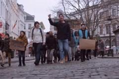 Klimaatspijbelende scholieren in België