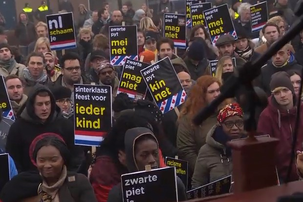 Demonstratie KOZP te Dokkum (2 december 2017)