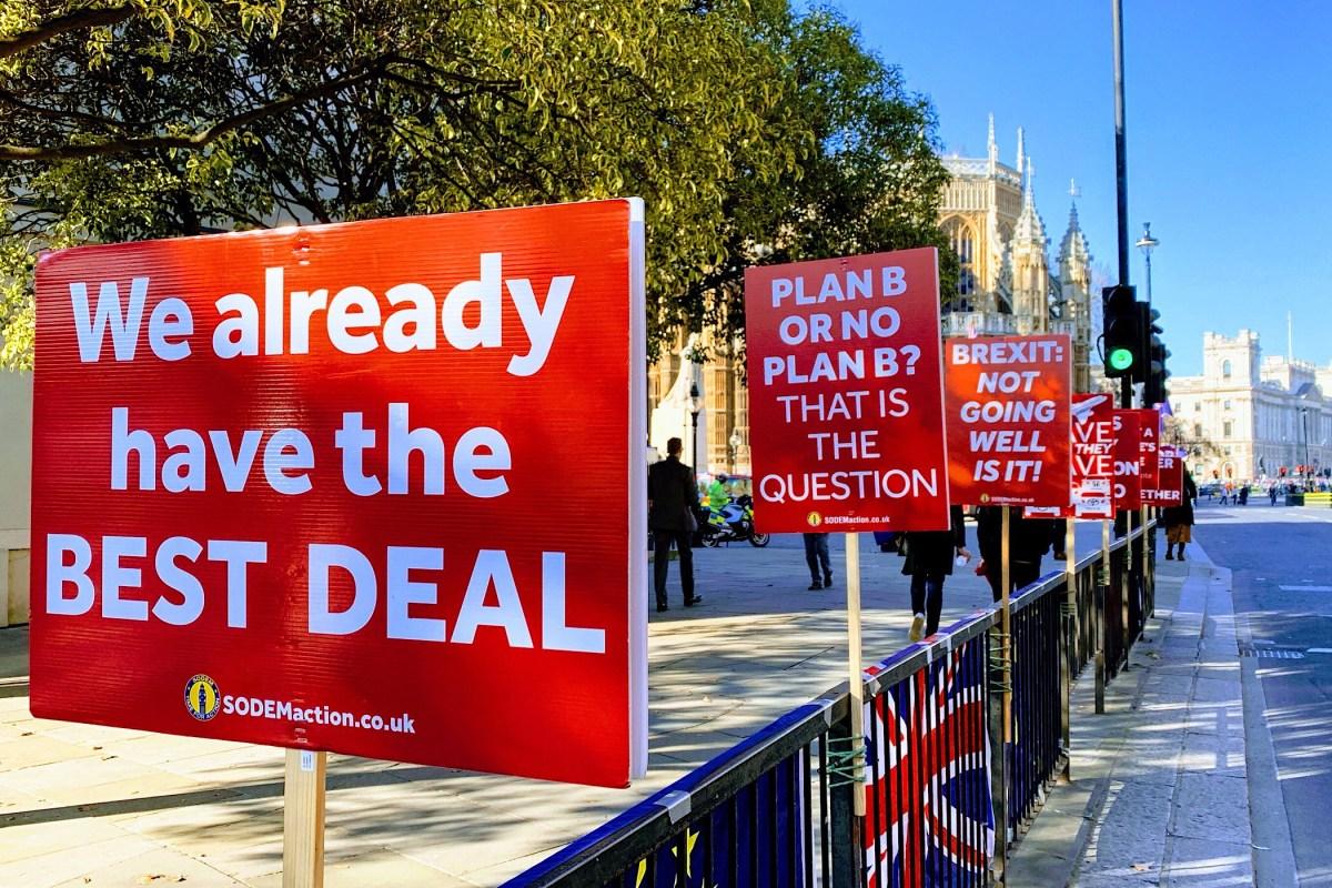 Brexit-soap nadert de zoveelste ontknoping