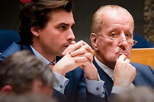 Thierry Baudet en Theo Hiddema