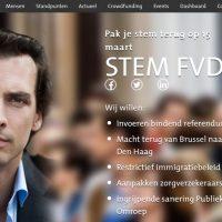Forum voor Democratie lijkt het wetenschappelijk instituut van de PVV