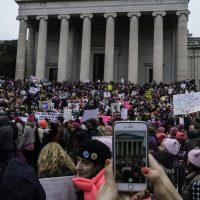 Hysterische Women's Marches tegen Trump