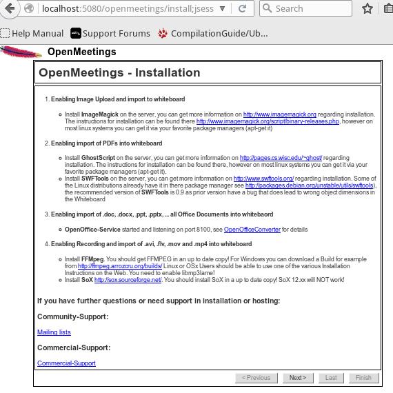 Install OpenMeeting Di Ubuntu