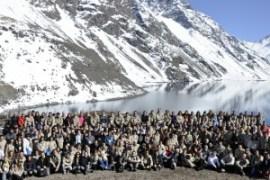 200 líderes llegaron hasta la cordillera para participar en la segunda edición del Aconcagua Summit.