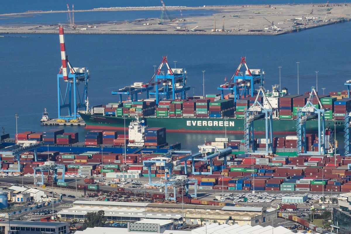 Major retail container ports
