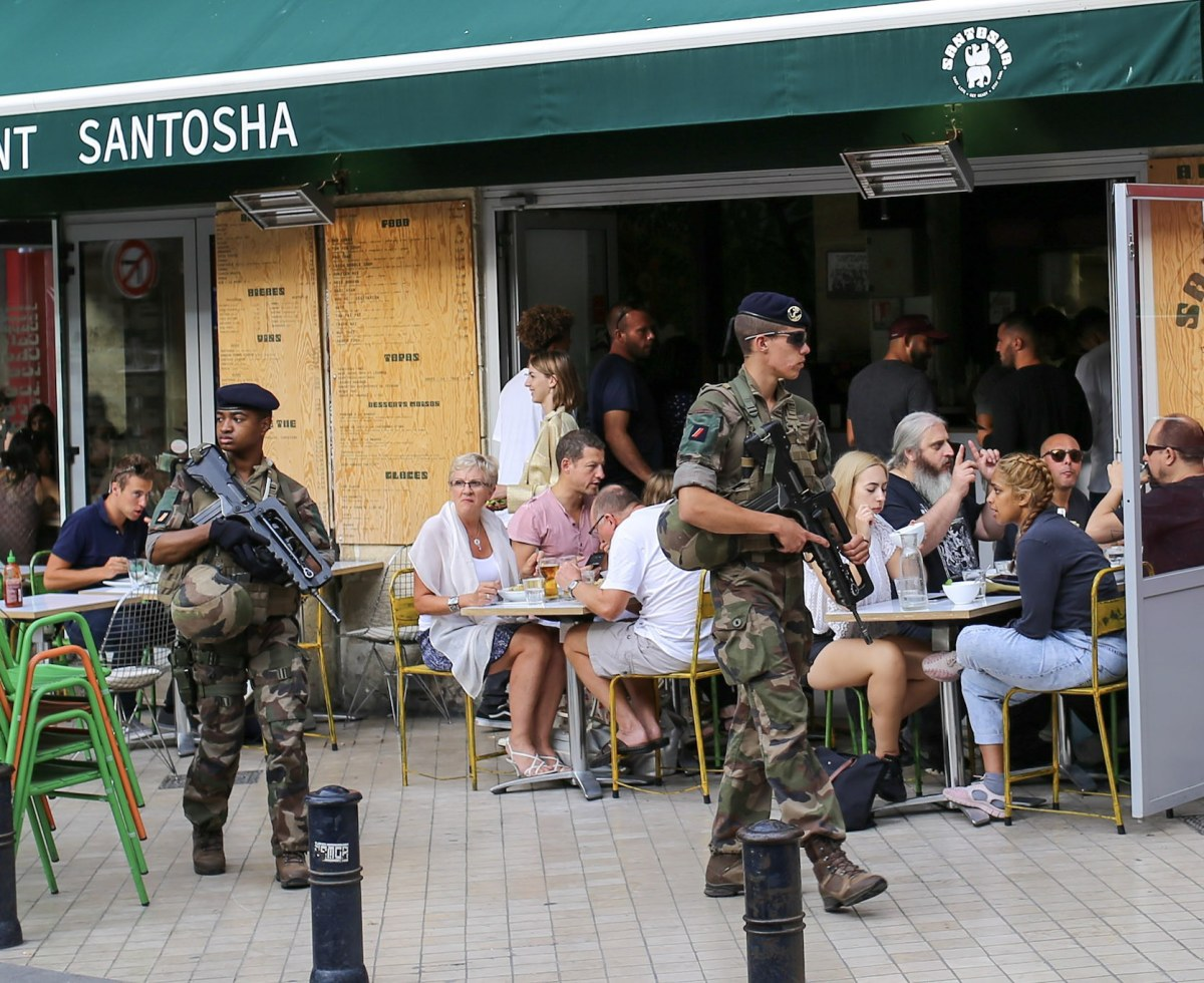 New French Reality: Armed Street Patrols