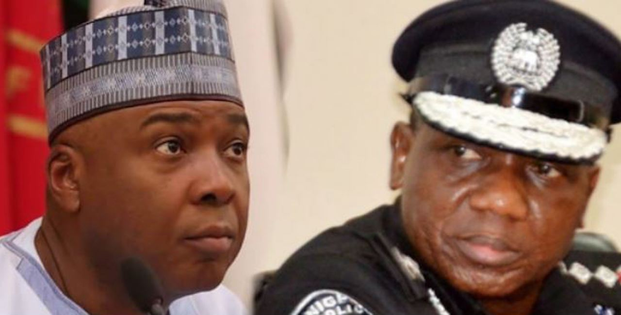 Saraki Raises Alarm, Says IGP Idris Plotting To Implicate Him, Gov. Abdulfatah
