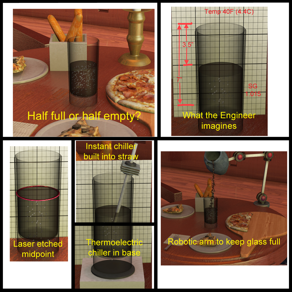 Half Full Or Half Empty An Engineer S Viewpoint
