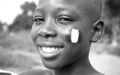 Smiling Nigerian Boy