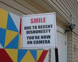 Smile for Dishonesty