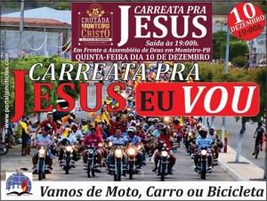 ad-300x226 Carreata para Jesus será realizada nesta quinta-feira em Monteiro