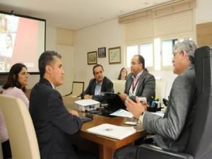 Ricardo-300x225 Ricardo discute parcerias com representantes do Banco do Nordeste