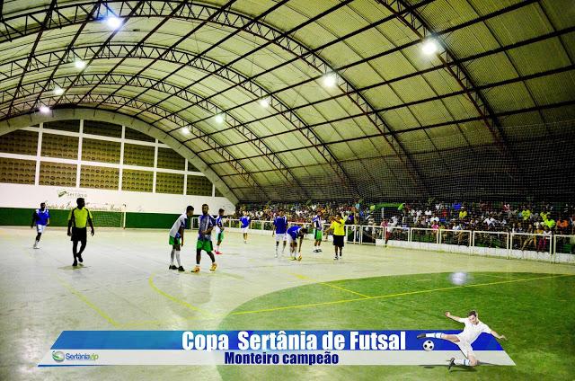 VIP_9164 Monteirense é campeão da Copa Sertânia de Futsal
