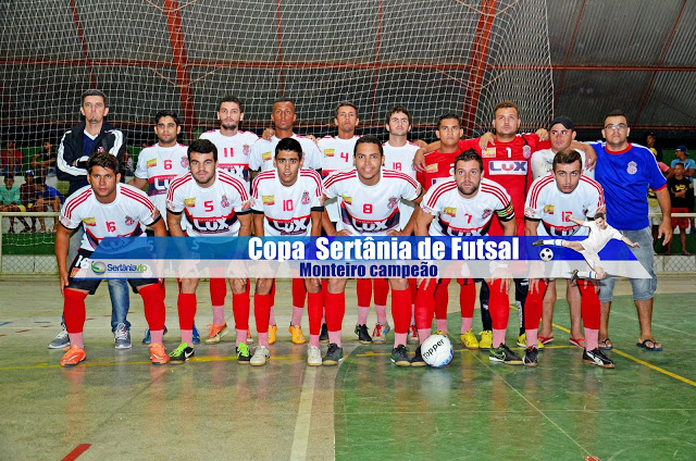 VIP_9168 Monteirense é campeão da Copa Sertânia de Futsal