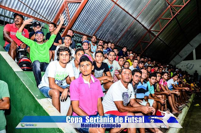 VIP_9191 Monteirense é campeão da Copa Sertânia de Futsal
