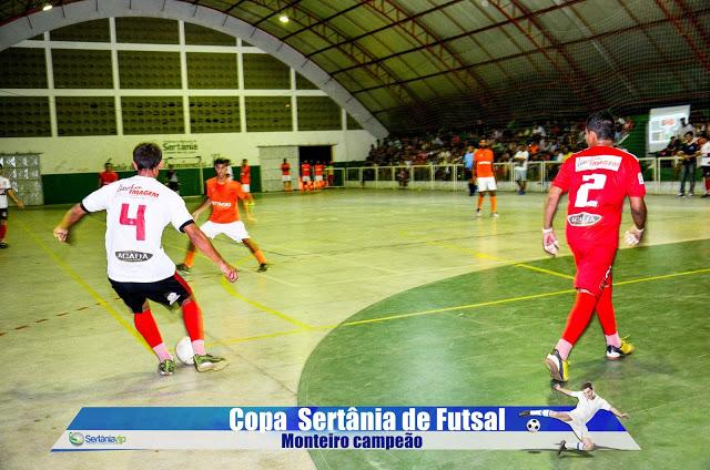 VIP_9199 Monteirense é campeão da Copa Sertânia de Futsal