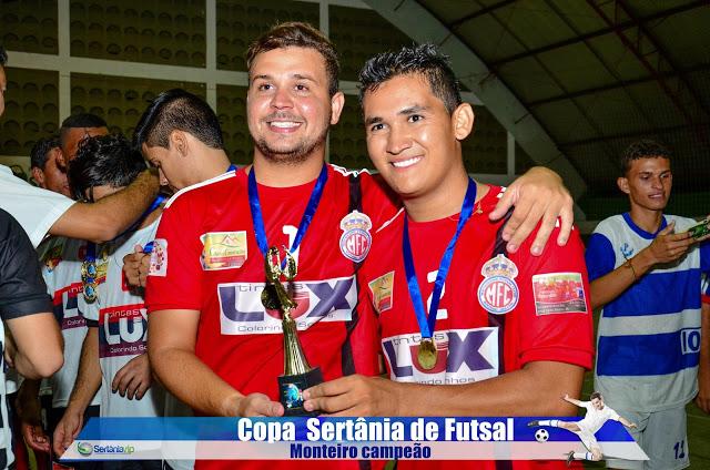VIP_9272 Monteirense é campeão da Copa Sertânia de Futsal