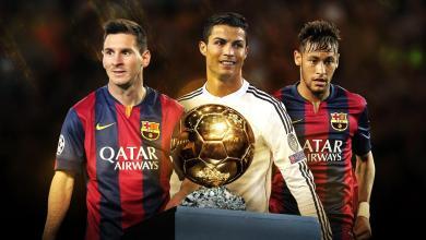 Messi confirma favoritismo e leva 5ª Bola de Ouro; CR7 bate Neymar e é viceCOMENTE 4