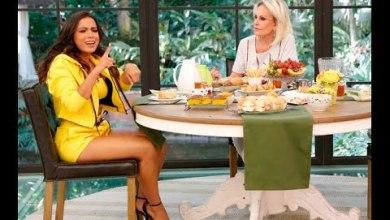 Anitta leva bronca de Ana Maria Braga ao vivo na TV 2