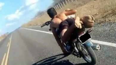Motoqueiro desafia leis de trânsito no Cariri e se exibe com foto em rede social 7