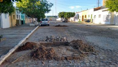 CAGEPA deixa buracos nas ruas e prejudica população monteirense 7