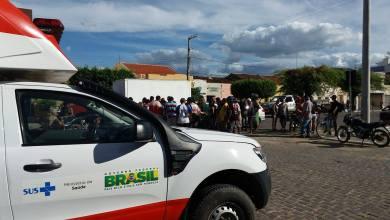 Colisão entre motos deixa uma pessoa ferida em Monteiro 5