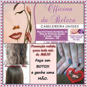 13151901_1129951947025614_2386355064808144856_n-300x300 Grande promoção na Officina da Beleza em Monteiro;Confira